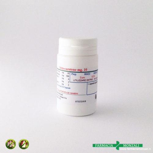 beta carotene preparazione galenica farmacia online monzali