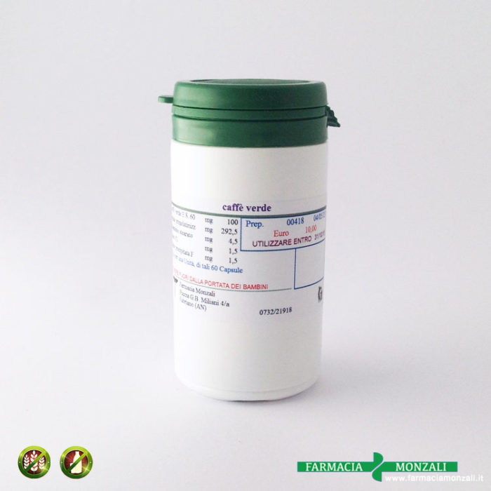 caffè verde preparazione galenica farmacia online monzali