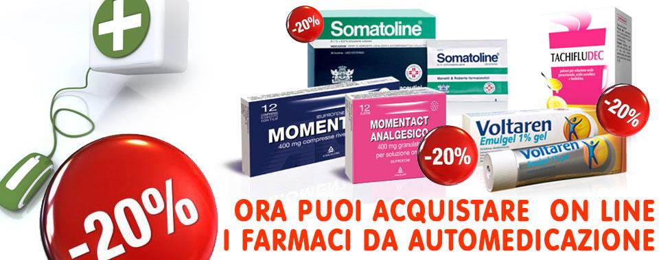 farmacia onlilne monzali slide automedicazione